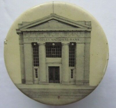 Vintage Celluloid Tape Measure Peoples National Bank Westfield, New Jersey