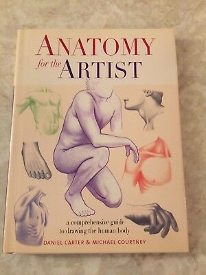 Anatomy For The Artist By Sarah Simblet English Hardcover Book