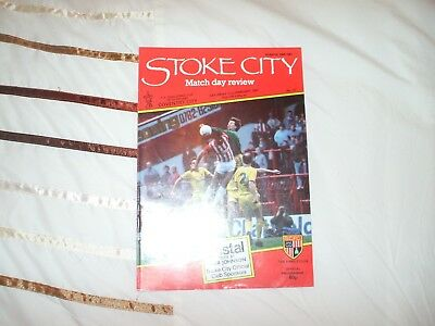 Stoke City V Coventry City Fa Cup 21-2-1987 Coventry Go On To Win Cup