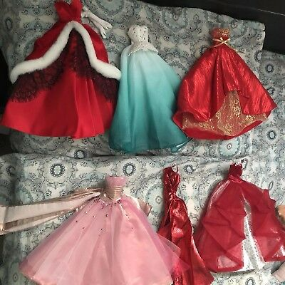 BARBIE DOLL GOWNS Lot Holidays Label - $17.50 | PicClick
