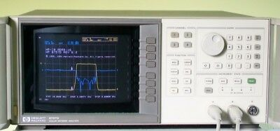 AGILENT HEWLETT PACKARD HP 8757D color scalar network analyzer HP8757D