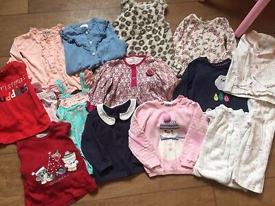 Baby Girl 9-12 Month Clothes Bundle With Swimming Costume