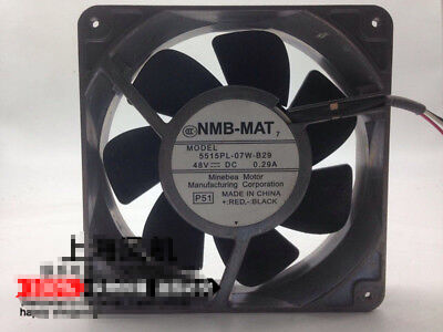 1pc New NMB-MAT 5515PL-07T-B29 48V 0.29A 14038 industrial computer cooling fan