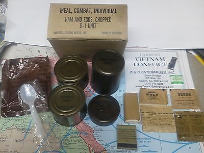 Military DOD Vietnam  Army USMC C-Rations Meal...dsx
