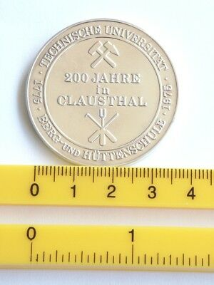 Silbermedaille 1975, 200 Jahre Berg- & Hüttenschule Clausthal