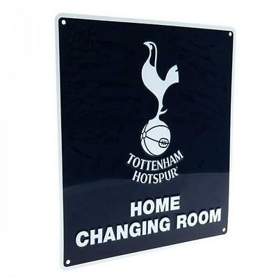Tottenham Hotspur FC / Spurs Official Crested Metal Home Changing Room Sign