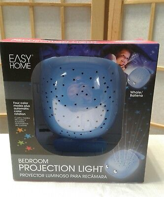 EASY HOME Whale BEDROOM PROJECTION LIGHT