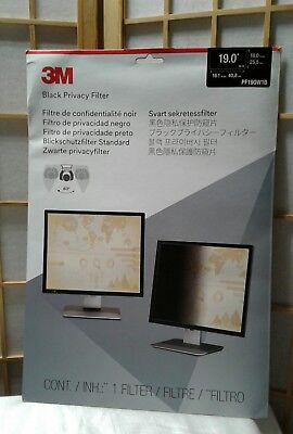 "3M Privacy Filter for 19"" Widescreen Monitor (16:10) PF190W1B"