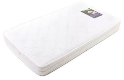 BabyRest Deluxe Ventilated Innerspring Double Quilted Cotton Cot Mattress with Z