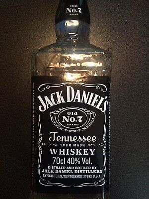 5 Leere Jack Daniels Whiskey Flaschen 0,7
