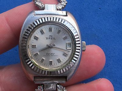Vintage Breil Okay Lady Manual Cal.83 Swiss Made