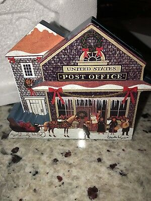 NEW 2001 Charles Wysocki's Hometown Christmas SPECIAL DELIVERY Bradford Exchange