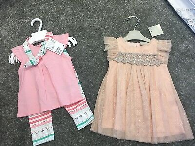 3-6 Month Baby Girls Clothes BNWT Next H&m