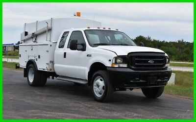 2004 Ford F-450 Fiberglass Enclosed Service Body, Good Condition, Low Reserve!