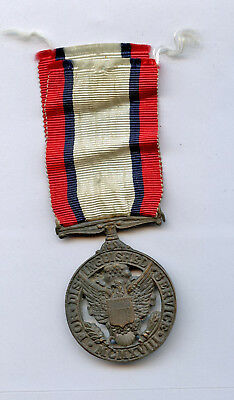 WWI WW1 French-Made SUPER Rare DSM Distinguished Service Medal THEATER MADE Cool