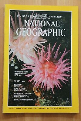 National Geographic Magazine Apr 1980 Canada's cold seas, Texas