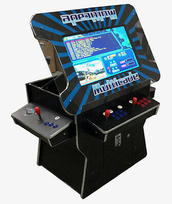 "3 SIDE Arcade Cocktail  26"" Screen Lift up 1162 Game with Track ball option"