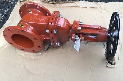 "*NEW* Zurn Wilkins Model 48, 6"" ID Fire Main Gate Valve -Flange Both, Sprinkler"