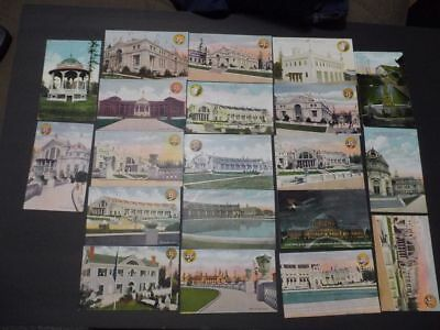 Alaska Yukon Pacific Exposition 20 Postcards