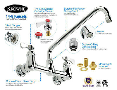 Faucets Cleaning Warewashing Commercial Kitchen Equipment