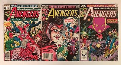 Lot Of Old Avengers Comics 161, 219 And 234