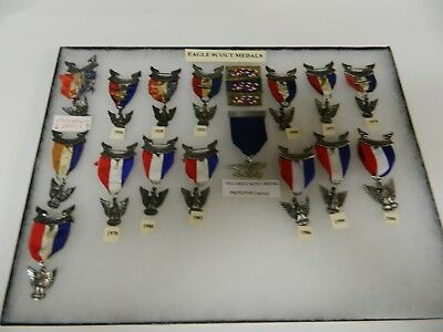 Boy Scout Eagle Scout Medal Collection