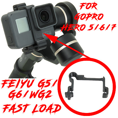 Clip for Feiyu G5 G6 WG2 & GOPRO 5 6 7 Quick Release Gimbal Fy Clips Clamp