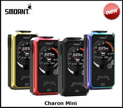 New Smoant Charon Mini 225W Tc Box Mod - 100% Genuine
