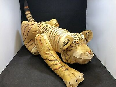 Vintage 1985 Frenry Inflatable Tiger Carnival Blow Up Barnum's Animal Crackers
