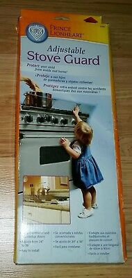 Adjustable Stove Guard Child Safety Protects from Burns by Prince Lionheart