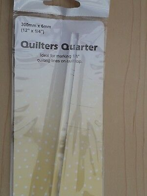 "New -  Sew Easy - L 12 "" x 1/4 "" Quilter's Quarter for Patchwork Quilting Craft"