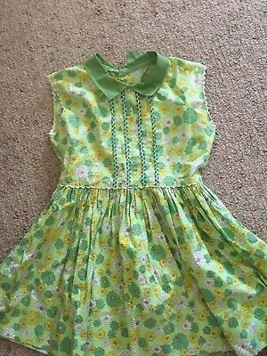 Vintage Girls Dress Approx 6-8