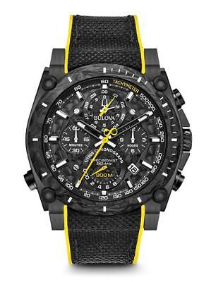 AUTHORIZED DEALER Bulova 98B312 Men's Precisionist Chronograph Black Dial Watch