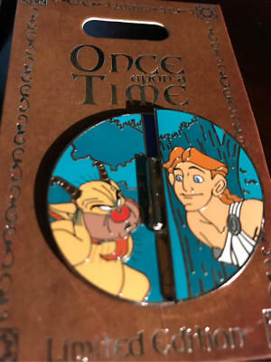 Disney Parks Once Upon A Time Pin of Month  Hercules LE 2000 Phil Megara Zeus