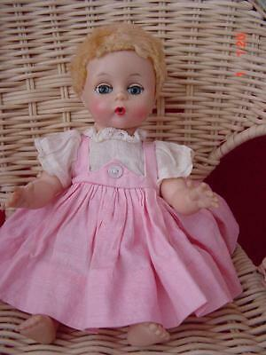 Vintage Mad Alex Little Genius Doll with 2 outfits, Excellent Cond