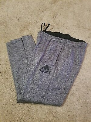 New Adidas Climawarm Jogging Sweat Pants Size L Grey