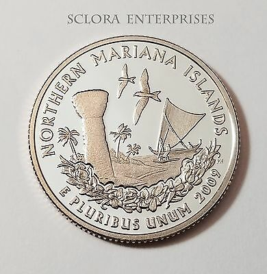 2009 S Northern Mariana *proof* Quarter   **free Shipping**
