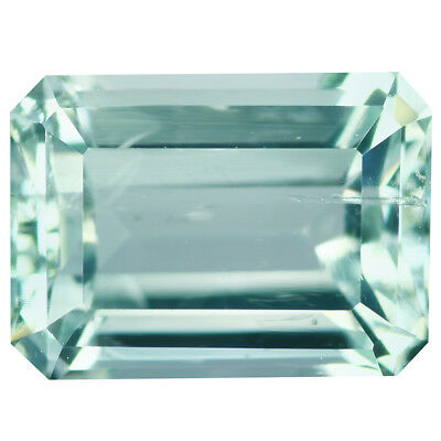 2.03Ct Phenomenal Octagan Cut 9 x 7 mm 100% Natural Blue Aquamarine