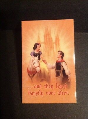 """New WDCC Snow White and Prince """"And They Lived Happily Ever After"""" Pin LE 5000"""