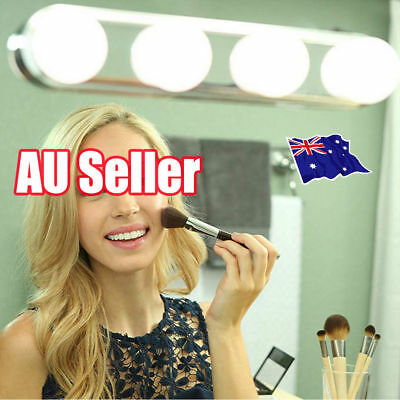 Super Bright Vanity Mirror Portable Light Bulbs 4LED Glow Make Up Cosmetic OD