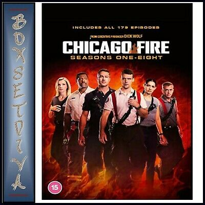 Chicago Fire Complete Seasons 1 2 3 4 5 & 6 *brand New Dvd Boxset