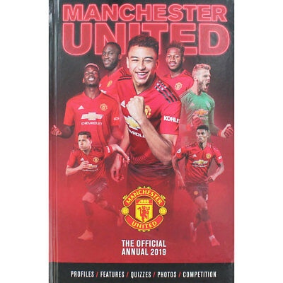 Manchester United - The Official Annual 2019 (Hardback), Children's Books, New