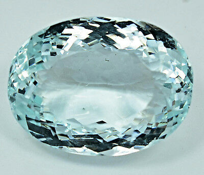 88.25 Ct NATURAL Blueish Green AQUAMARINE Loose Oval GEMSTONE AGSL Certified