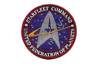 Star Trek Ecusson brodé Starfleet Command United federation of planets patch