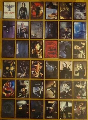 The Crow Kitchen Sink Trading Cards plus super rare Crowmium cards