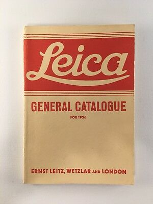 Leica - General Catalogue for 1936