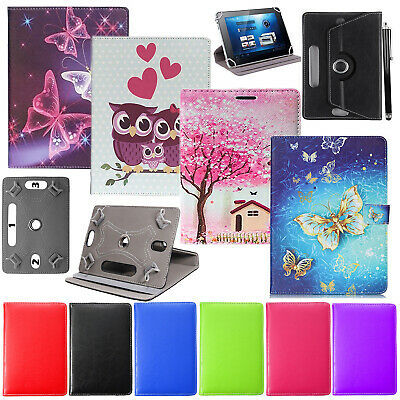 PU Leather Folding Standing Case for Acer Iconia One 10 Inch 16GB Tablet White