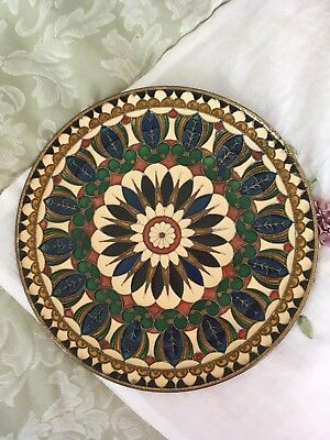 Stunning Vintage Chinese Decorated Cloisonne Plate
