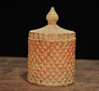 china Buddhism old temple be unearthed crystal Buddhist relics pot