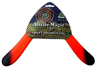 Australian Made Returning Boomerang Aussie Magic SPORT Boomerang SOUVENIR GIFT